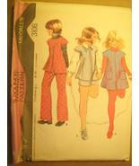 UNCUT Sewing Pattern 1971 McCall's SIZE Chubbies 8 1/2 JACKET Pants 3106... - $4.51