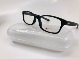 New NIKE KIDS NK 5005 001 Matte Black Eyeglasses 46mm with NIKE Case - $59.35