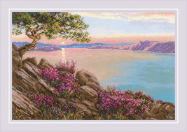 Cross Stitch Kit Riolis Lake Baikal - $50.00