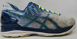 Asics Gel Nimbus 18 Size US 13 2E WIDE EU 48 Men's Running Shoes Silver T601N