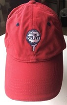 Page & Tuttle Red The Brat Adjustable Cap SnapBack Club Baseball Hat - $13.67