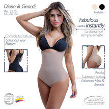Fajas Colombianas Diane 002375 Braless Reducer Bodyshaper Thermoreductor... - $47.49