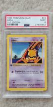 Pokemon Abra 43/102 1st Edition Base Set PSA 9 1999 TCG Game Shadowless - $31.99