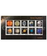 Sri Lanka National Stamp Exhibition 2014 - Souvenir sheet, SOLAR SYSTEM - $5.89