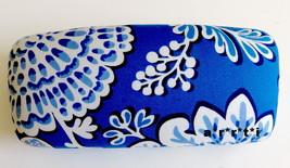 Vera Bradley Hard Clamshell Eyeglass Sunglass Case Blue Lagoon NWOT - $29.00