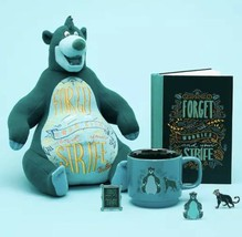 Disney Wisdom Baloo Plush, Journal, Mug And Pins Set Limited Release - New - $149.95