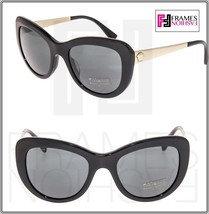 VERSACE Butterfly VE4325A Black Gold Medusa Mirrored Sunglasses Women 4325 - $207.90