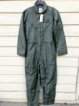 Nwt Us Air Force Nomex Fire Resistant Flight Suit Green CWU-27/P - 42L - $123.75
