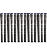 14 x Lot Winn Golf Dri-Tac Dritac AVS Dark Gray Grey Midsize Grips 6DT-D... - $69.99