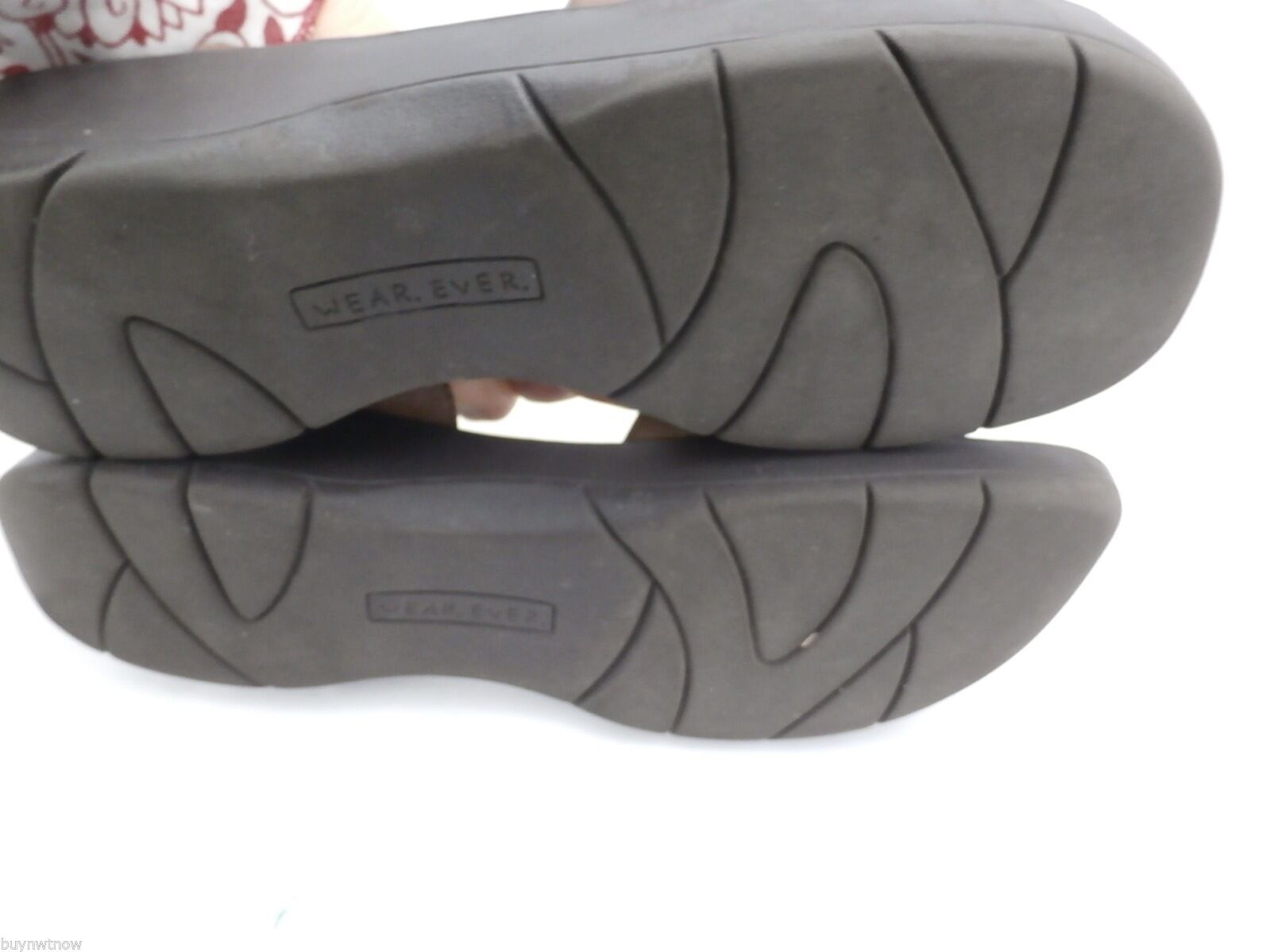 Womens Wear Ever Brown Leather Sandals Comfort Ostep 8.5 M image 4