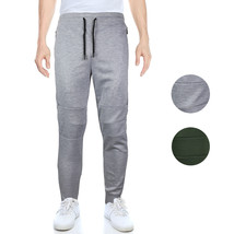 Lavish Society Men's Athletic Workout Slim Fit Jogger Sweat Pants 421531