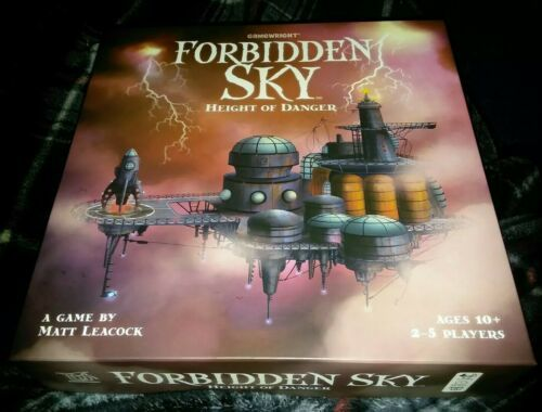 Primary image for Forbidden Sky Height Of Danger Board Game 2 - 5 Players Gamewright Complete