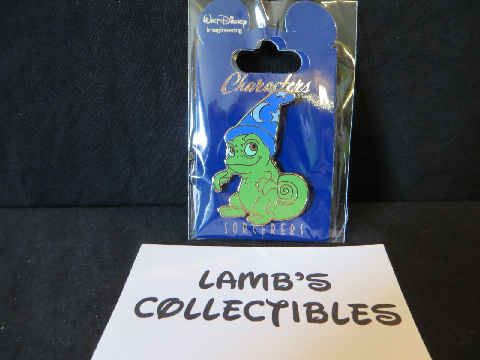 Primary image for Disney Parks WDI Sorcerer Hat Pascal from Tangled Pin LE 200 Rapunzel sidekick