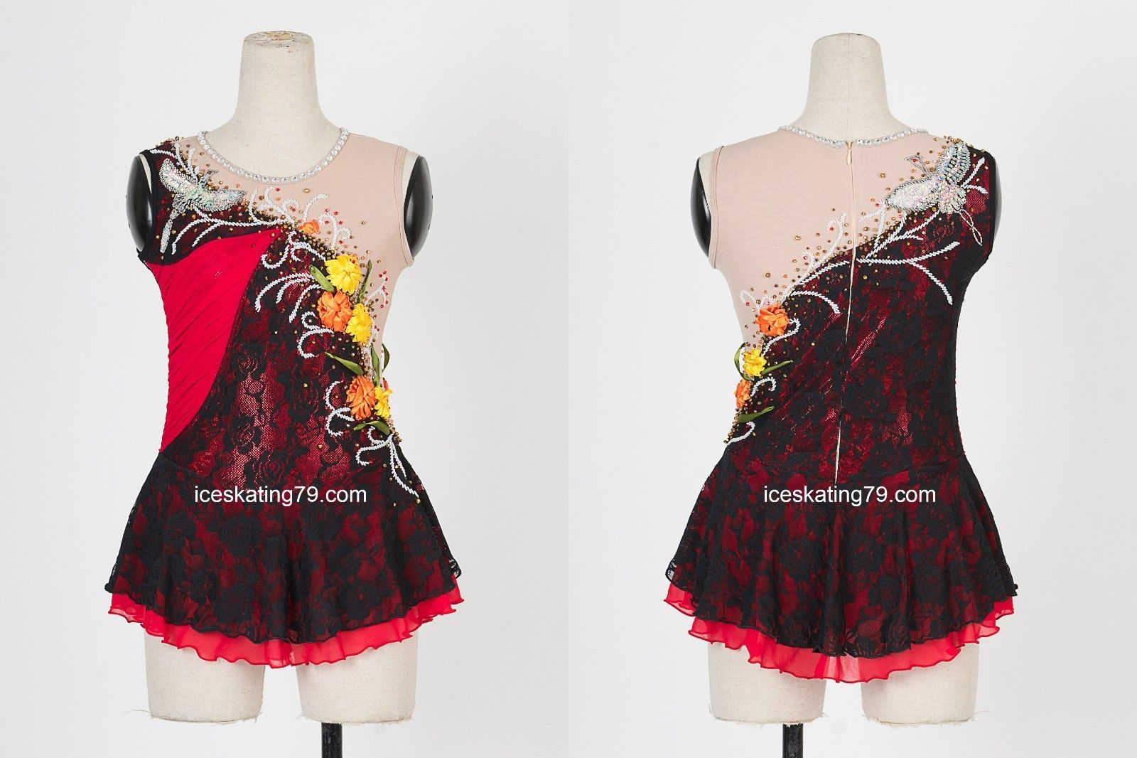 Figure Skating Competition Dress For Girls Age 13-14 At All Costs Sporting Goods Skating Dresses-girls