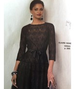 ** Vogue Sewing Pattern 8943 Ladies Misses Dress & Slip 16-24 Claire Sha... - $19.13