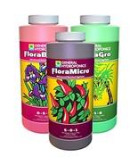 General Hydroponics Flora Grow, Bloom, Micro Combo Fertilizer Set, 1 pin... - $0.00