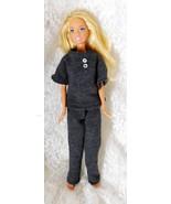 """1999 Mattel Barbie 11 1/2"""" Doll #2019 Bendable Knees - Big Feet -Handmad... - $9.49"""