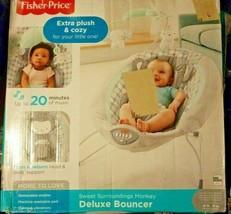 Fisher-Price Sweet Surroundings Monkey Deluxe Bouncer - $51.43
