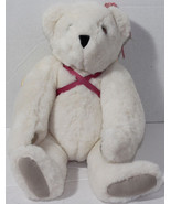 Vermont Teddy Bear Company WHITE WINGED ANGEL JOINTED Legs Arms Neck PLU... - $19.79