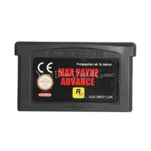 Max Payne GBA Gameboy Advance 32bit Cartridge Game Card For HandHeld Con... - $9.99