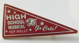 Walt Disney High School Red Wildcats Pep Rally Pin From 2007 - $10.92