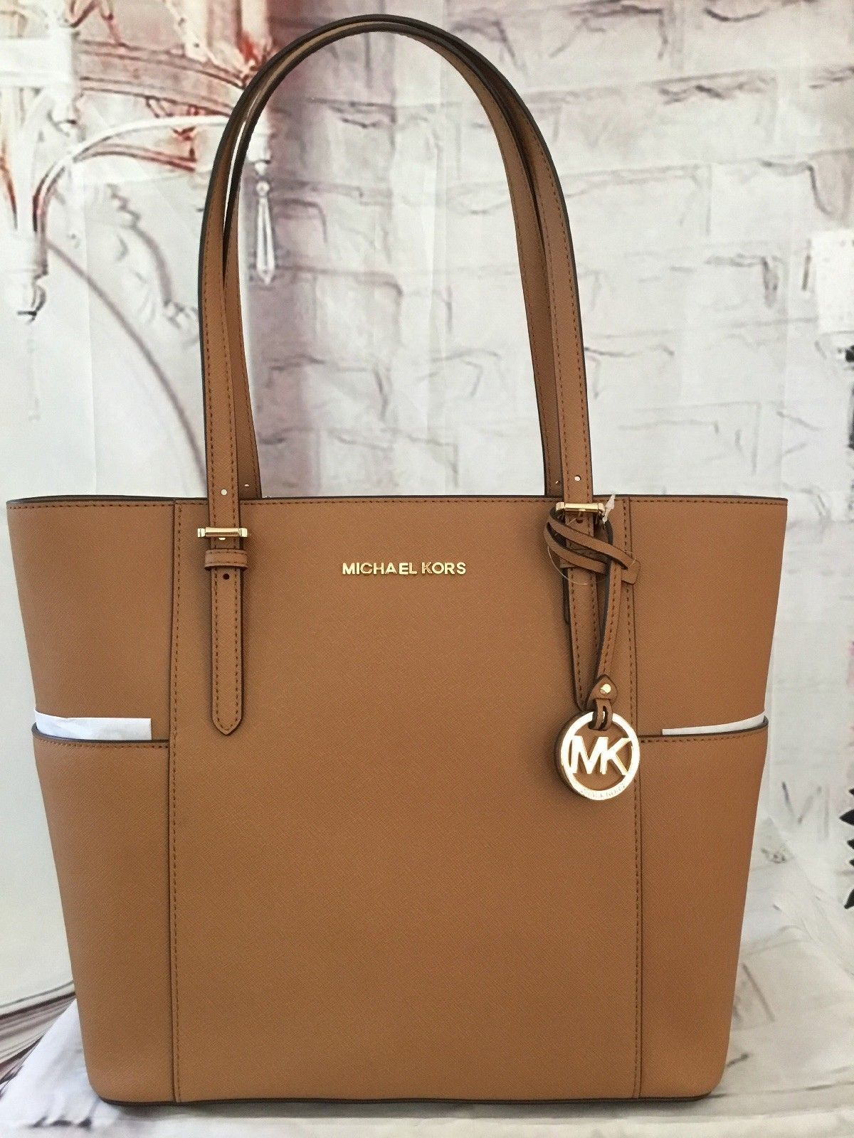 1a205305403b Michael Kors Nwt Jet Set Travel Large and 49 similar items. S l1600