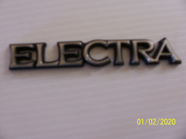1984 1985 1986  BUICK ELECTRA WAGON FENDER SIDE TRIM EMBLEM ORNAMENT OEM... - $41.23