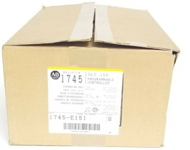 NIB ALLEN BRADLEY 1745-E151 PROGRAMMABLE CONTROLLER EXPANSION UNIT SLC 150 SER B