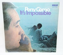 Perry Como It's Impossible Vinyl Album LP Record RCA LSP 4473 - $7.43