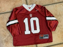 NIKE INDIANA HOOSIER IU FOOTBALL BASKETBALL BABY BOY GIRL 3 6 M #10 MESH... - $12.59