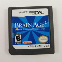 Brain Age 2: More Training in Minutes a Day (Nintendo DS, 2007) - $3.57