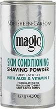 SoftSheen Carson Magic Skin Conditioning with Aloe & Vitamin E Shaving P... - $21.09