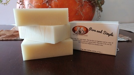 3 bars - Pure and Simple 4 oz Bar Soap - $12.95