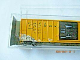 Micro-Trains # 02545561 Railbox Graffiti 50' Rib Side Boxcar Single Door N-Scale image 5