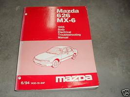 1995 Mazda 626 MX-6 MX6 Body Electrical Service Repair Shop Manual FACTORY FEO - $22.23