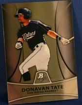 2010 Bowman Platinum Prospects Donavan Tate #PP24 - $0.99