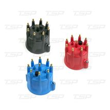 A-Team Performance 8-Cylinder Male Pro Series Distributor Cap & Rotor Kit (Red) image 3