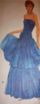 Pattern V1623 Kaspar Strapless Designer Gown - $19.99