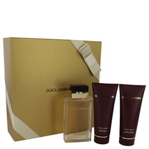 Dolce & Gabbana Pour Homme 3.4 Oz EDP + Shower Gel + Body Lotion 3 Pcs Gift Set image 1