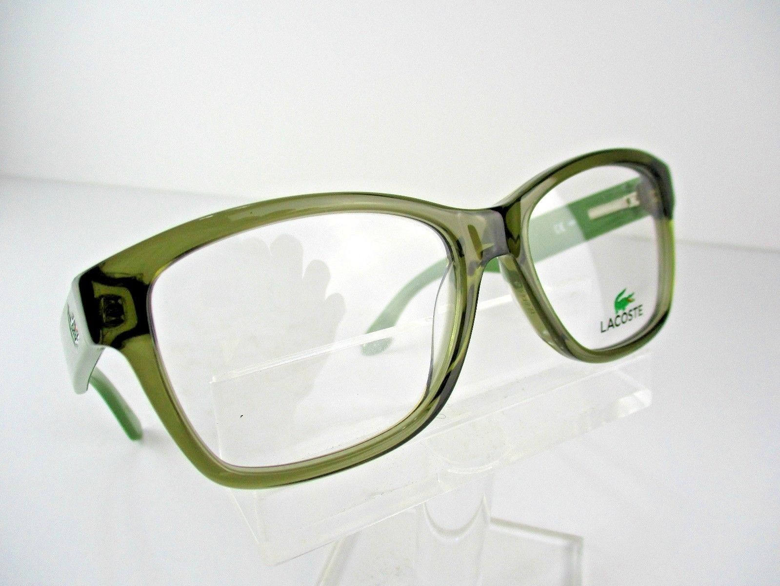efe3eca95bde NEW Lacoste L-2709 (317) Khaki Transparent and 46 similar items