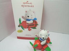Hallmark Crayola I Can Do It Bear Airplane  Ornament 2013 - $30.84
