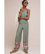 NWT $198 ANTHROPOLOGIE FARM RIO HONOLULU JUMPSUIT L - $123.49