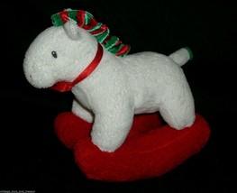 2006 TY PLUFFIES PRETTY PONY CHRISTMAS ROCKING HORSE STUFFED ANIMAL PLUS... - $14.03