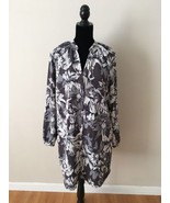 FCUK French Connection Floral Long Sleeve Button Down Dress Size 8 - $29.70