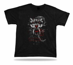 Monster Teeth skull art design Tshirt birhday apparel special spiritual ... - $7.57