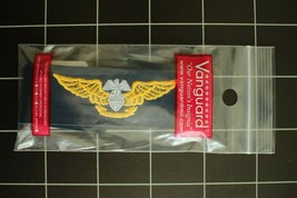 Usn Us Navy Coverall Uniform Aviation Maint Off Specialty Badge Insignia Tape - $6.88