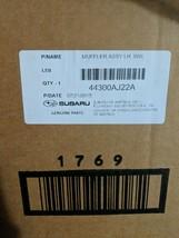 SUBARU OEM 10-12 Outback 3.6L-H6-Muffler Left 44300AJ22A - $175.00