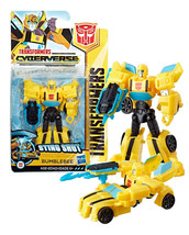 Transformers Cyberverse: Sting Shot Bumblebee Mint on Card - $6.88