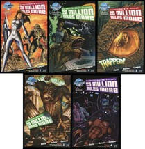 20 Million Miles More Comic Ultimate Set 1-2-3-4 Lot + Rare Variant Harr... - $99.00