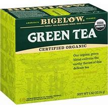 Bigelow Organic Green Tea 40 Bags Pack of 6, 240 Tea Bags Total. Organic... - $28.97